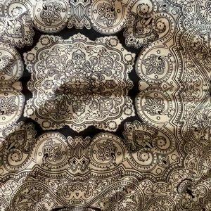 NWOT..CABI 100% silk scarf